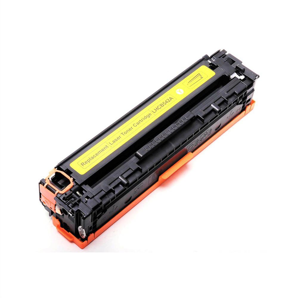 Compatible HP CB542A Yellow Toner Cartridge